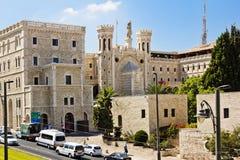 Complex of Notre-Dame de France. Jerusalem Stock Image