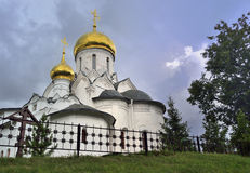 The complex of Orthodox churches Stock Photography