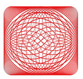 Abstract spirograph pattern or background Stock Photos