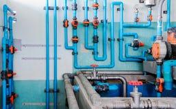 Complex pipeline Stock Photo
