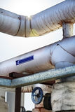 Water Pipes & Valve Royalty Free Stock Photos