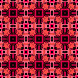 Complex red and pink pattern royalty free stock images