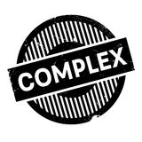 Complex rubber stamp Royalty Free Stock Photos