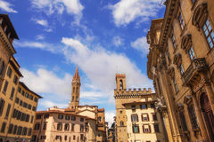 Complex of San Firenze in Florence. Italy Stock Photos