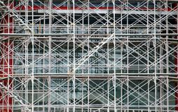 Complex Scaffold at Building Site Stock Photo