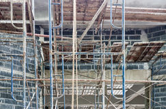 Complex scaffolding Royalty Free Stock Images
