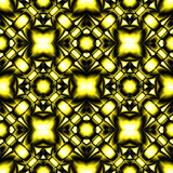 Complex seamless pattern of rhombuses Stock Images