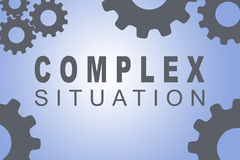 Complex Situation concept Stock Photos