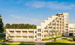 The complex of the Spa Resort Medical Egle sanatorium. Druskininkai. Lithuania Royalty Free Stock Photo