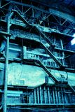 The complex systems of energy boiler Stock Image