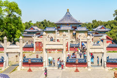Complex Temple of Heaven Royalty Free Stock Photos