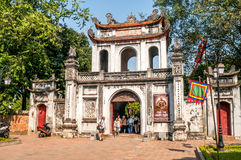 In Complex Temple of Literature Royalty Free Stock Photo