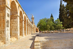 Complex on the Temple Mount, Jerusalem, Israel Stock Image
