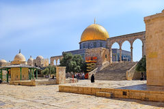 Complex on the Temple Mount, Jerusalem, Israel Stock Photo