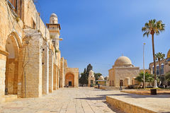Complex on the Temple Mount, Jerusalem, Israel Royalty Free Stock Image