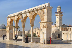 Complex on the Temple Mount, Jerusalem, Israel Royalty Free Stock Images