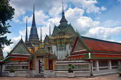 Complex of temple Wat Pho Royalty Free Stock Photography