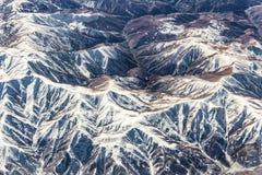 Complex van bergen Stock Fotografie