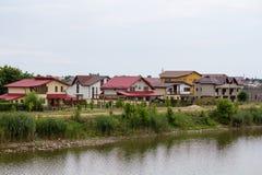 Complex of villas Royalty Free Stock Photo