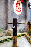 Complexe architectural antique de ville commerciale antique de Hongjiang photographie stock