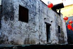 Complexe architectural antique de ville commerciale antique de Hongjiang photo libre de droits