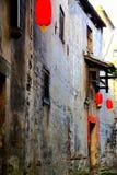 Complexe architectural antique de ville commerciale antique de Hongjiang image stock