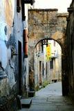 Complexe architectural antique de ville commerciale antique de Hongjiang photographie stock libre de droits