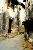 Complexe architectural antique de ville commerciale antique de Hongjiang images stock