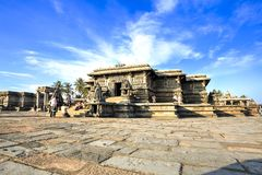 Complexe Chennakeshava, Belur, India Stock Fotografie