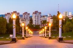 Complexe commémoratif de Zavokzalnyy, Sotchi, Russie photo stock