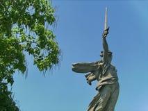 Complexe comm?moratif historique ?Mamayev Kurgan ?? Volgograd Stalingrad, sculpture ?la m?re de patrie ! ? images libres de droits