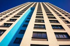 Complexe d'appartements ayant beaucoup d'étages moderne Image libre de droits