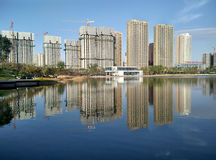 Complexe d'expérience de Shanshui Photos stock