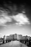 Complexe de bâtiment de belvédère à Vienne, Autriche photos stock