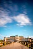 Complexe de bâtiment de belvédère à Vienne, Autriche photographie stock