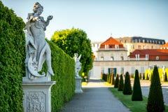 Complexe de bâtiment de belvédère à Vienne, Autriche photos libres de droits