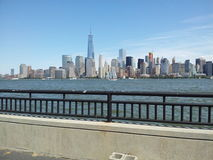 Complexe de Freedom Tower, horizon de NYC Images stock