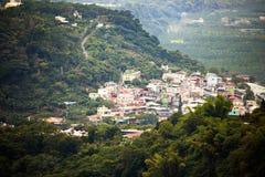 Complexe de logements de banlieue noire de Taïwan Sandimen Photographie stock