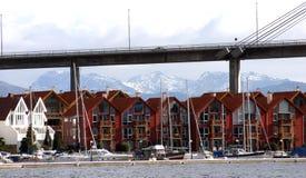 Complexe de logements moderne Photo stock