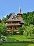Complexe de monastère de Barsana dans Maramures Images libres de droits