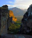 Complexe de monastère de Meteora Photo libre de droits