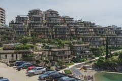 Complexe de plage de salon de Dukley Images stock