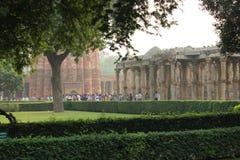 Complexe de Qutb Minar dans Mehrauli, New Delhi, Inde photographie stock