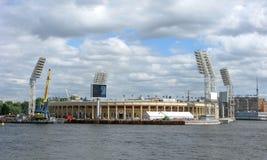 Complexe de sports de Petrovsky et stade, St Petersburg, Russie photos stock