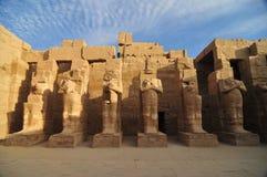 Complexe de Tempel van Karnak Stock Afbeelding