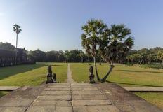 Complexe de temple antique d'Angkor Vat, mille bibliothèques du nord de Dieu, un des plus grands monuments religieux dans le mond photo stock