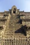 Complexe de temple antique d'Angkor Vat, mille bibliothèques du nord de Dieu, un des plus grands monuments religieux dans le mond images stock
