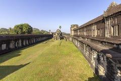 Complexe de temple antique d'Angkor Vat, mille bibliothèques du nord de Dieu, un des plus grands monuments religieux dans le mond image libre de droits