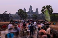 Complexe de temple d'Angkor Photos libres de droits
