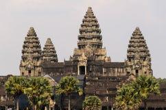 Complexe de temple d'Angkor Images libres de droits